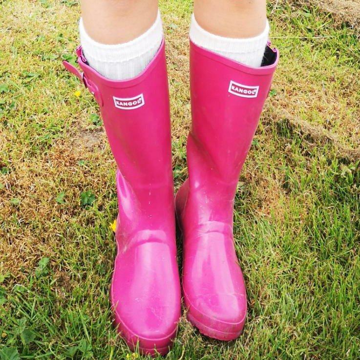 long boot socks wellies