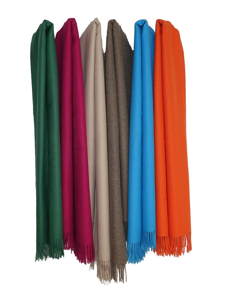 plain throws hanging 1