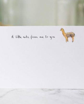 alpaca notecards