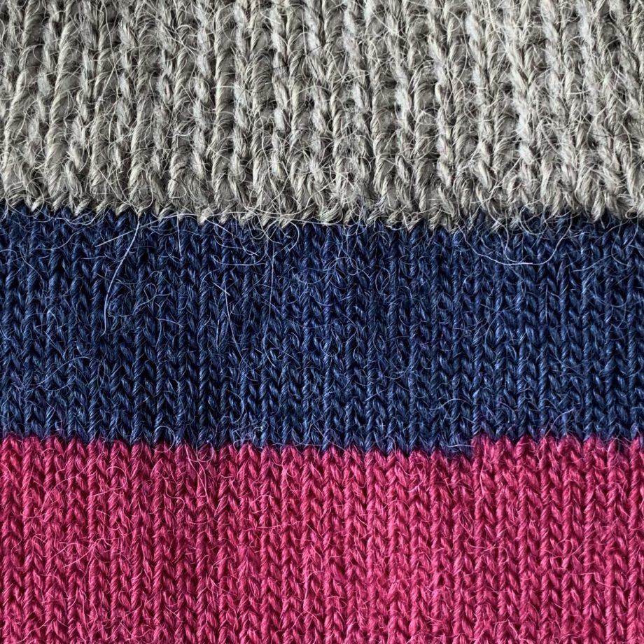 alpaca tricolore socks